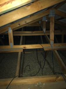 inside a roof void