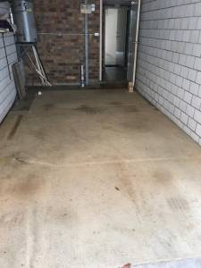 Empty garage Pest control moving house