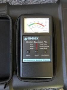 Trimex moisture meter.