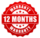 Sunnystate offers a full 12-month warranty of our services