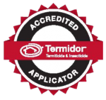 Sunnystate pest control Brisbane are Termidor Accreditation applicators