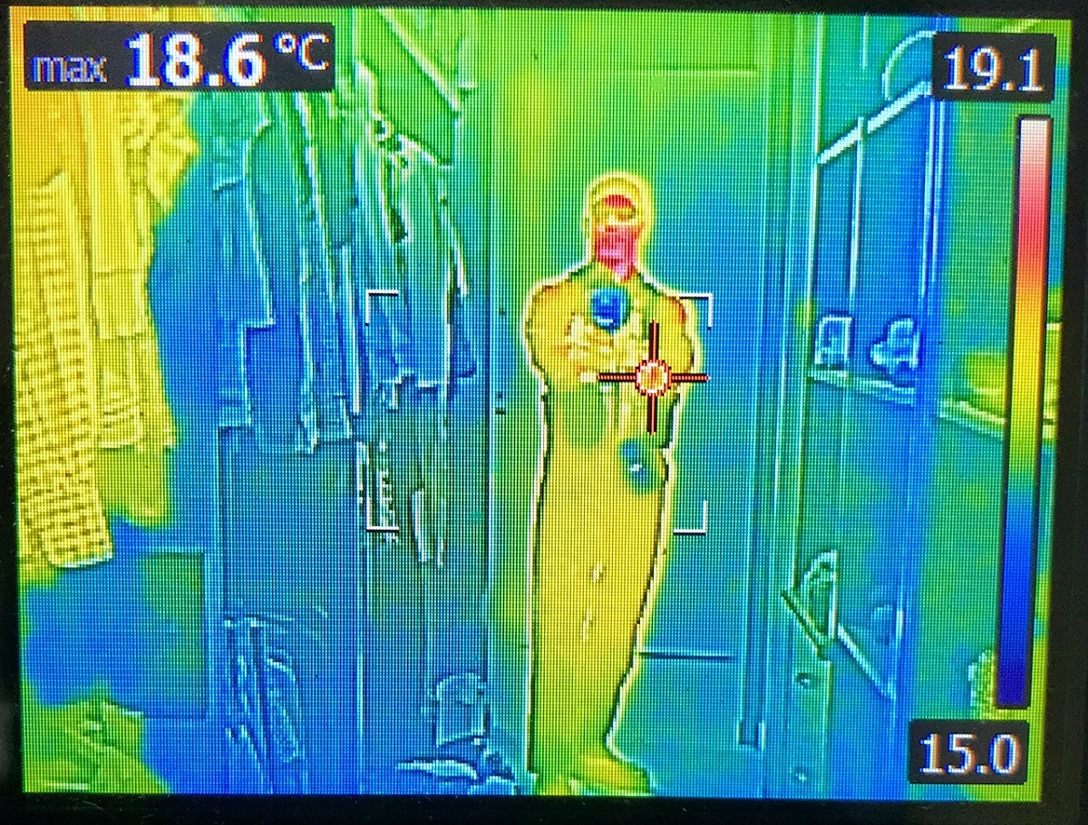 Thermal man for your termite inspection