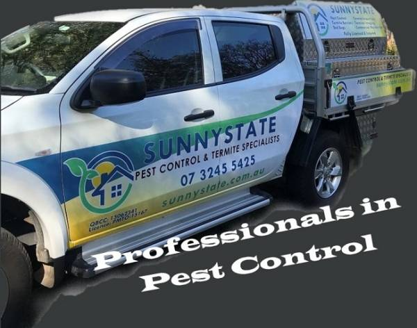 Sunnystate pest control service our professional truck